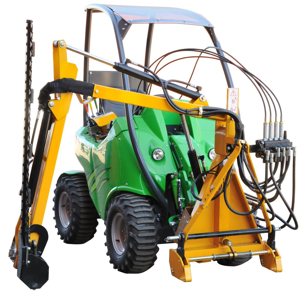Fingerbar Mower with Hydraulic Boom