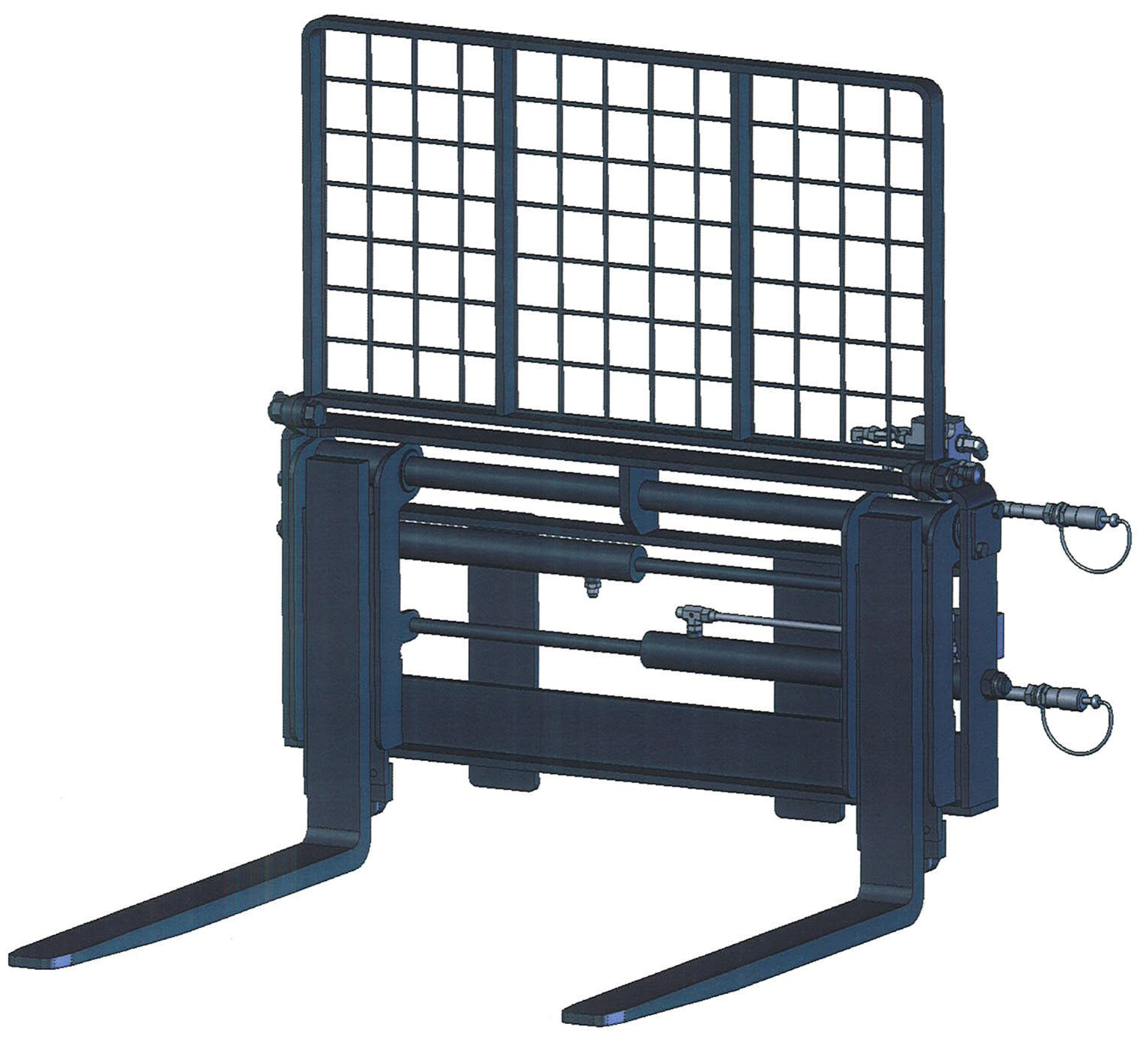 Pallet Fork with Side Shift