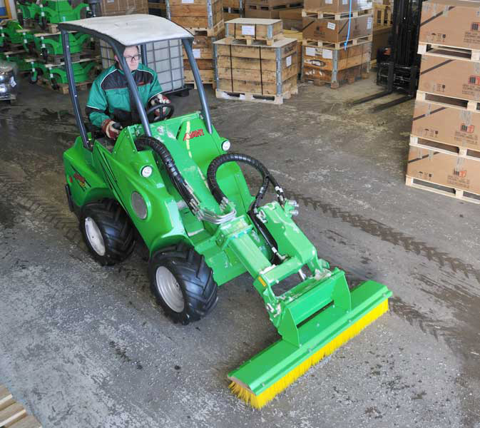 Avant Loader Push Broom
